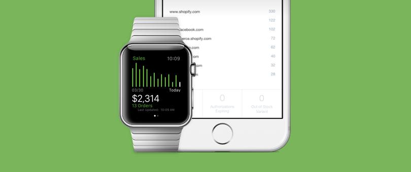 Shopify jetzt auch auf der Apple Watch