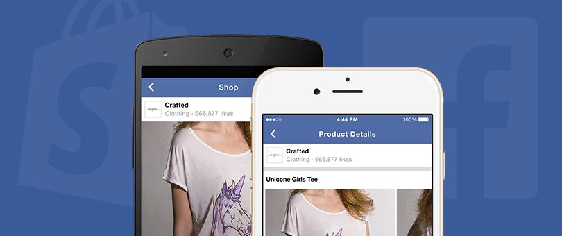 Shopify und Facebook kooperieren