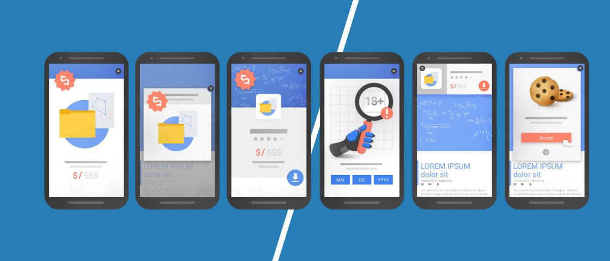 Google bestraft Websites mit Pop-ups