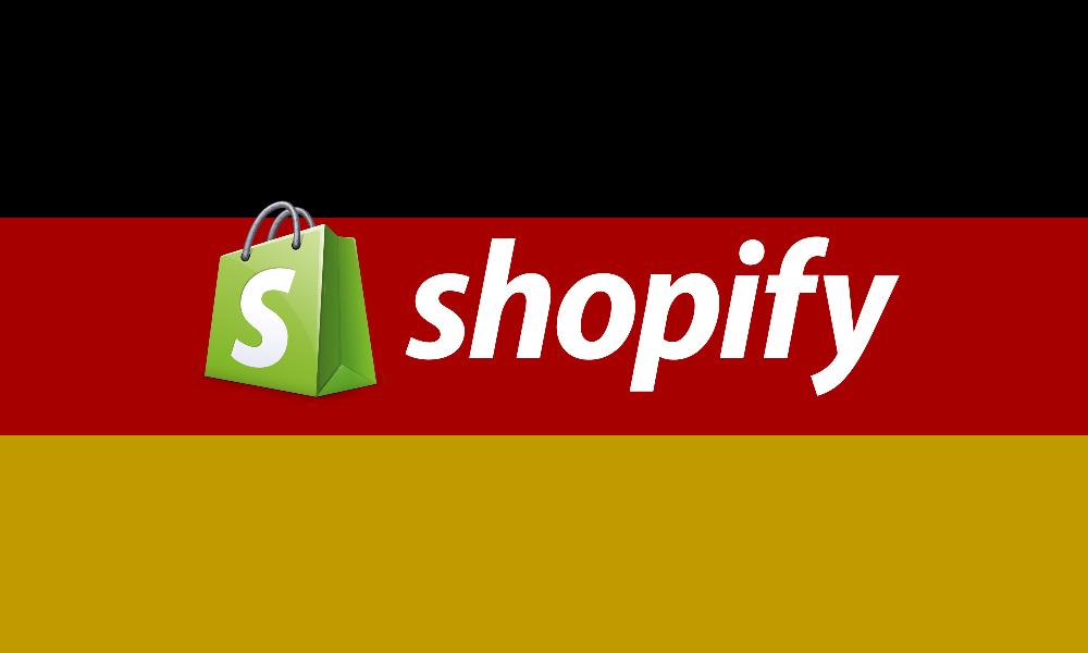 Endlich: Shopify (fast) komplett auf Deutsch verfügbar
